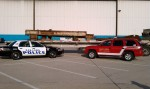 WTC beams ready for the trip to Oak Lawn