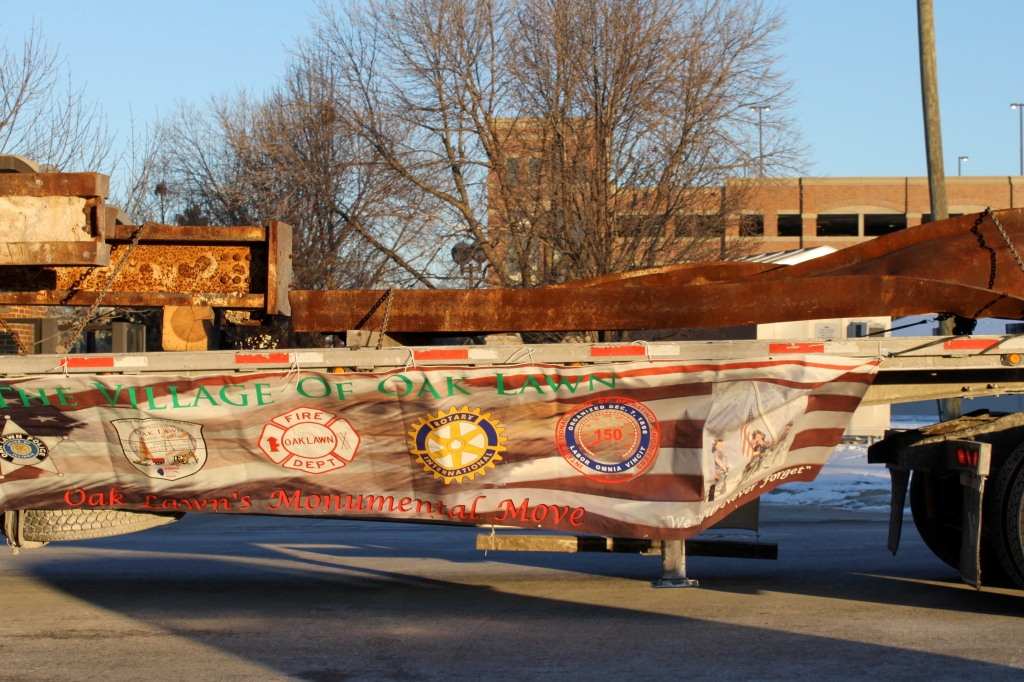 Beams from the WTC will be used in Oak Lawn's Monument